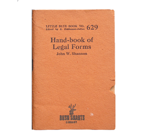 Hand-book of Legal Forms
