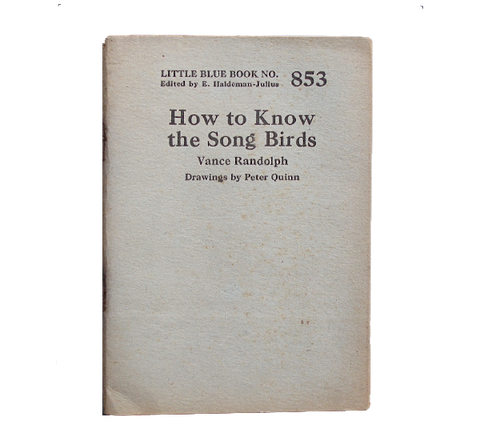 How to Know the Song Birds