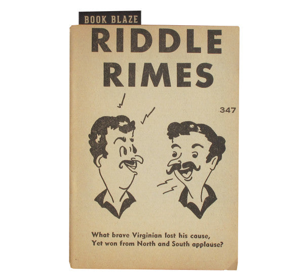 Riddles and Rimes