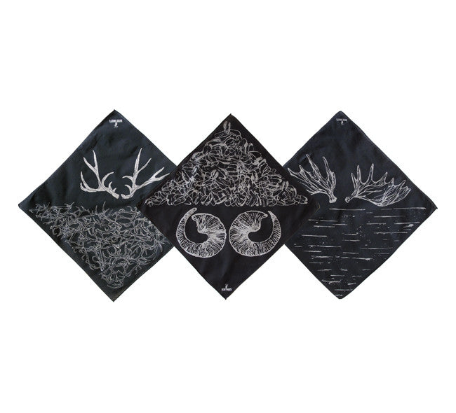Limited Edition Black Bandanas