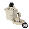 SMPL: Plastic Canteen with Khaki Canvas Sling