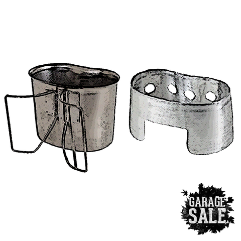 SMPL: Aluminum Nesting Stove + Cup