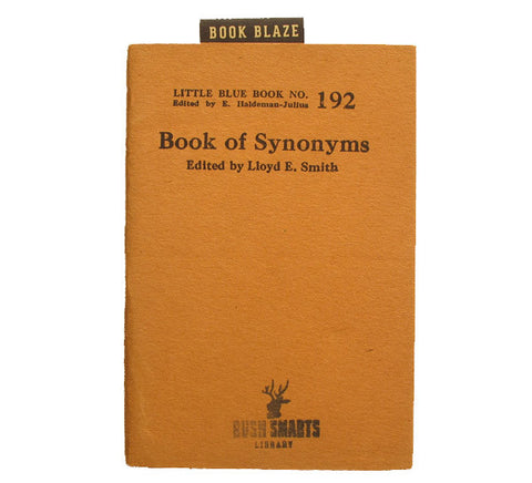 Book of Synonyms
