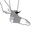 Futuro Ankle For Her Wrap Around Support Step 3