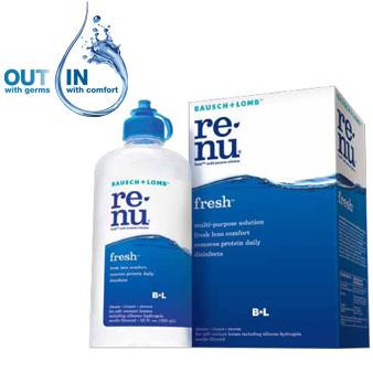 Bausch & Lomb ReNu Multiplus Multi-Purpose Solution Duo 475ml + 120ml