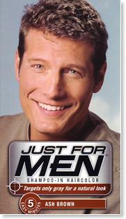 Just for Men Shampoo - In Haircolour - Natural Ash Brown