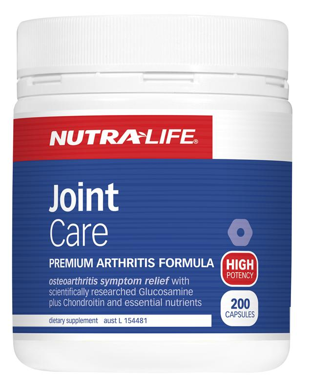 Nutra-Life Joint Care Capsules 200
