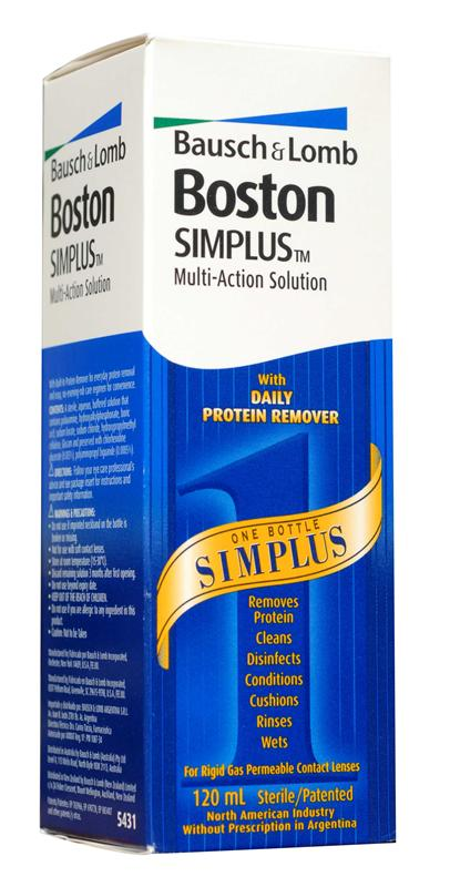 Boston SIMPLUS Multi-Action Solution 120ml
