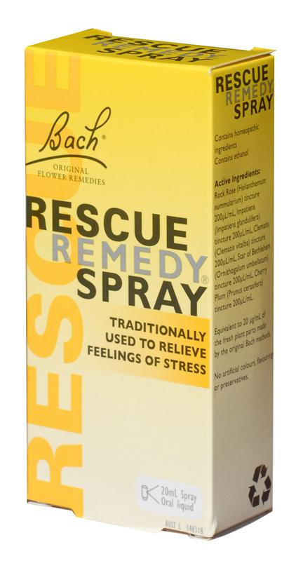 Rescue Remedy Spray Natural Stress Relief 20ml