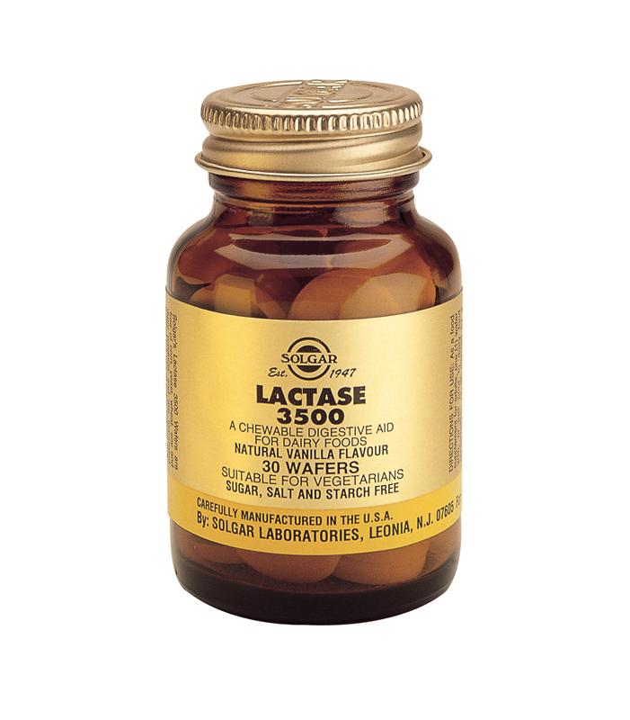 "Solgar Lactase ""3500"" Chewable Tablets 30"