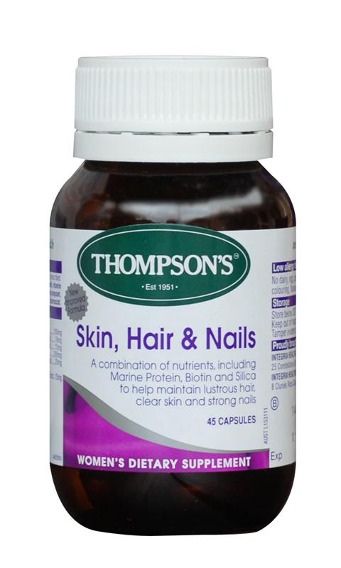 Thompsons Skin, Hair and Nails Capsules 45