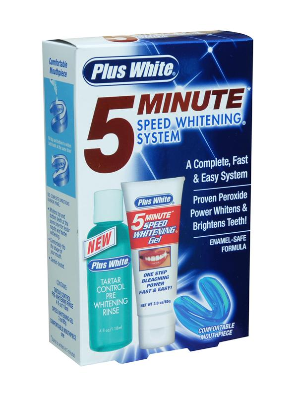 Plus White 5 Minute Speed Teeth Whitening System