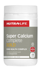 Nutra-Life Super Calcium Complete Gold Tablets 120