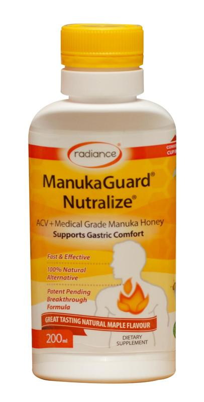 Radiance ManukaGuard Nutralize Indigestion Relief Maple Flavour 200ml