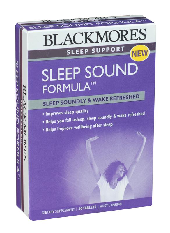 Blackmores Sleep Sound Formula Tablets 30