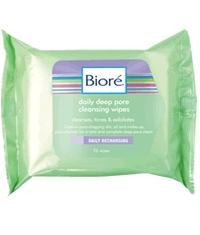 Biore Pore Perfect Daily Deep Pore Cleansing Wipes 25
