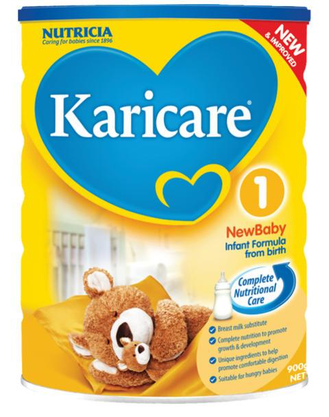 Nutricia Karicare Complete Nutritional Care Infant Formula (from birth) 900g