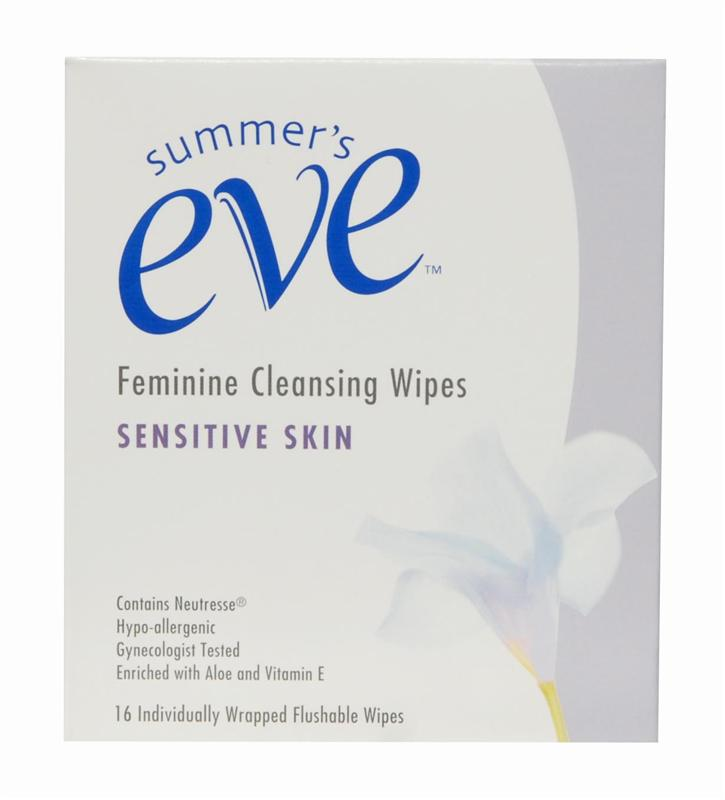 Summers Eve Feminine Cleansing Wipes - Sensitive Skin 16