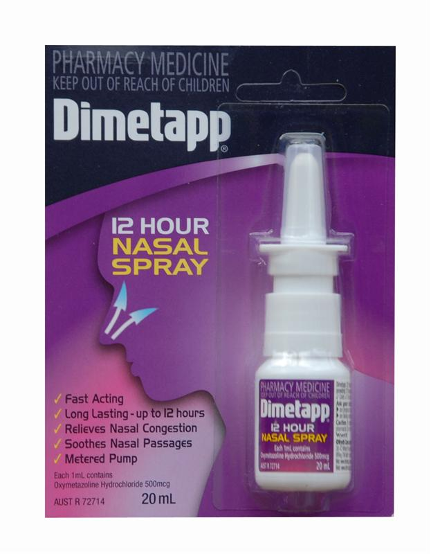 Dimetapp 12 Hour Nasal Spray