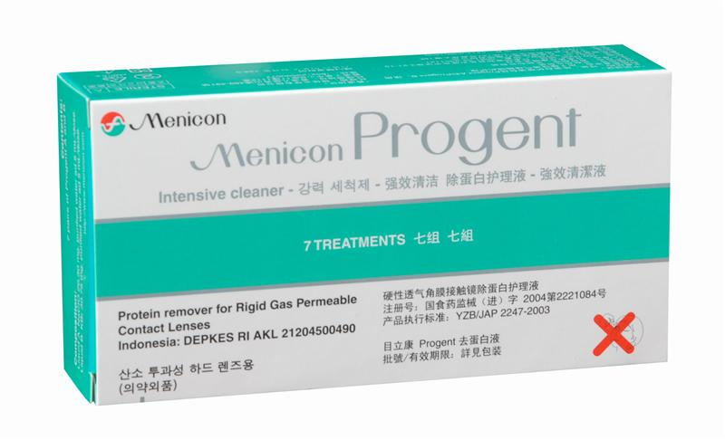 Menicon Progent Weekly Protein Remover