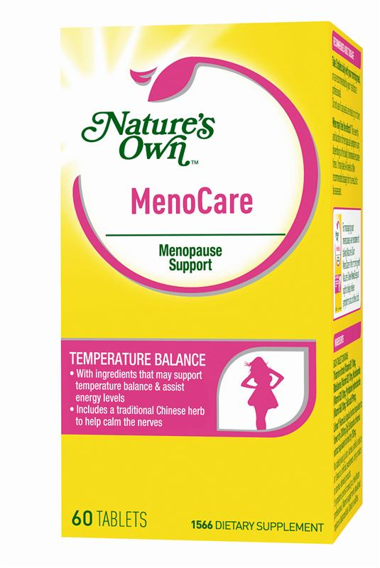 Nature's Own MenoCare Menopause Support Tablets 60