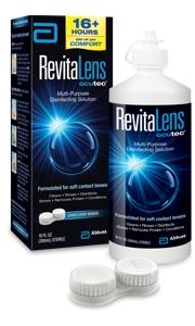 RevitaLens OcuTec Multi-Purpose Disinfecting Solution 300ml + 120ml
