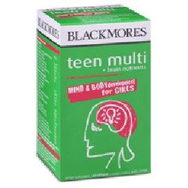 Blackmores Teen Multi + Brain Nutrients For Girls Capsules 60