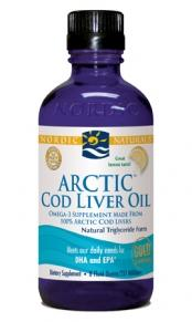 Nordic Naturals Arctic Cod Liver Oil - Lemon 237ml