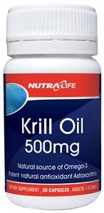 Nutra-Life OceanClean Krill Oil 500mg Capsules 60
