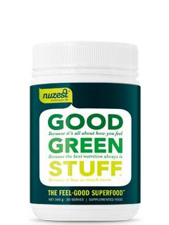 Nuzest Good Green Stuff 300g (Approx 30 servings)