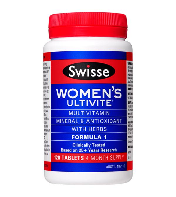 Swisse Womens Ultivite Formula 1 Tablets 120