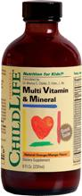 ChildLife Multi Vitamin and Mineral 230ml