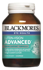 Blackmores Lutein-Vision Advanced Capsules 60