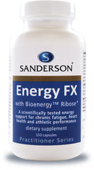 Sanderson Energy FX with Bioenergy Ribose Capsules 150