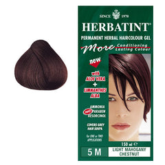 Herbatint Permanent Hair Colour Light Mahogany Chestnut 5M
