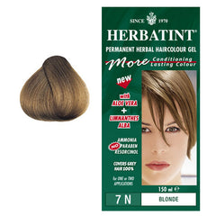 Herbatint Permanent Hair Colour Blonde 7N
