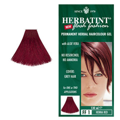 Herbatint Permanent Hair Colour Henna Red FF1