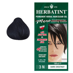 Herbatint Permanent Hair Colour Dark Chestnut 3N