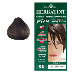 Herbatint Permanent Hair Colour Light Chestnut 5N
