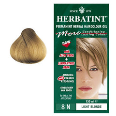 Herbatint Permanet Hair Colour Light Blonde 8N