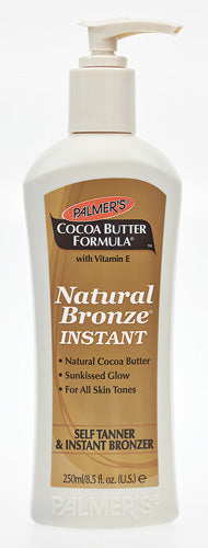 Palmers Cocoa Butter Natural Bronze Instant Self Tanner & Instant Bronzer 250ml