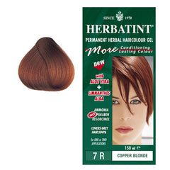Herbatint Permanent Hair Colour Copper Blonde 7R