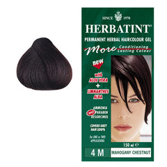 Herbatint Permanent Hair Colour Mahogany Chestnut 4M