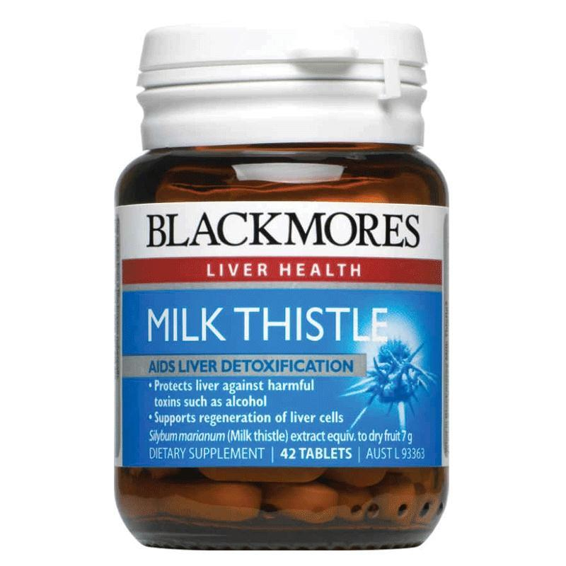 Blackmores Milk Thistle Tablets 42