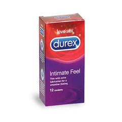 Durex Intimate Feel Condoms 12
