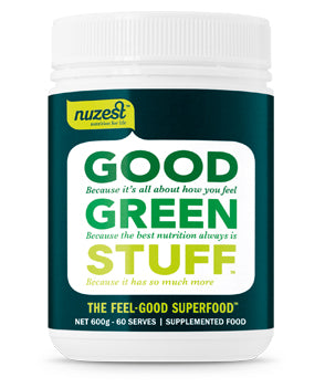 Nuzest Good Green Stuff 600g (Approx 60 servings)