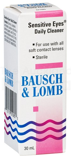 Bausch & Lomb Sensitive Eyes Daily Cleaner 30ml