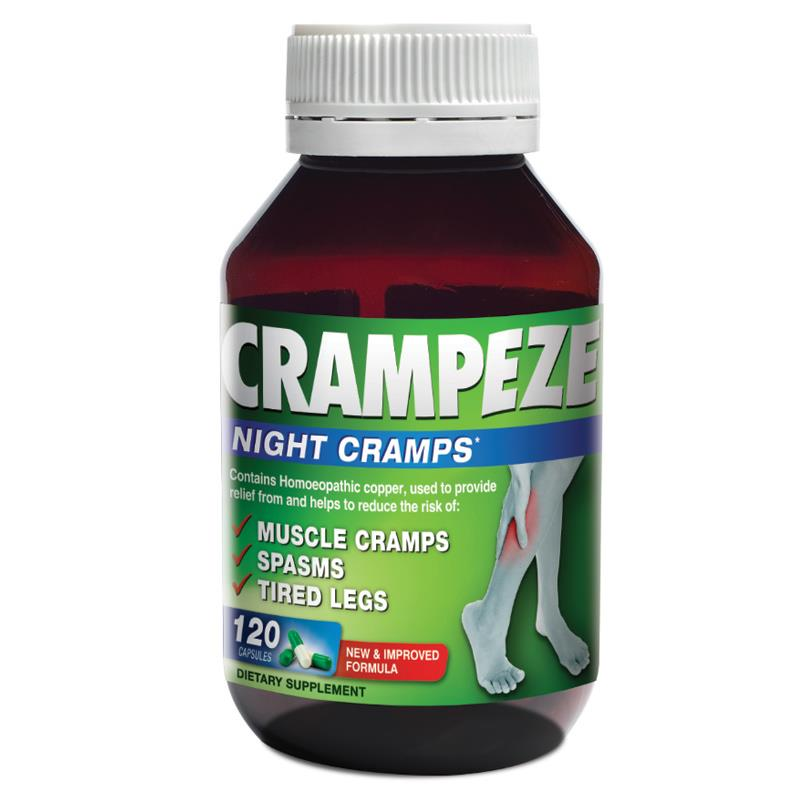 Crampeze Night Cramps Capsules 120