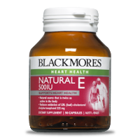 Blackmores Natural Vitamin E 500IU Capsules 150