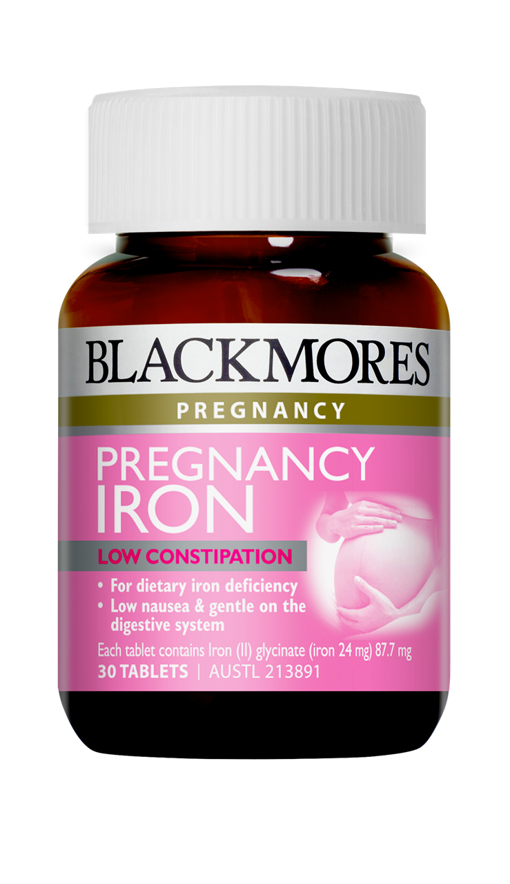 Blackmores Pregnancy Iron Tablets 30